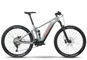 BMC Speedfox AMP Three Electric Mountain Bike Stock Image