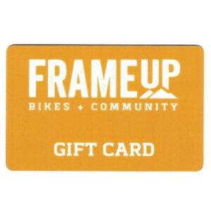 Frame Up Bikes Gift Card